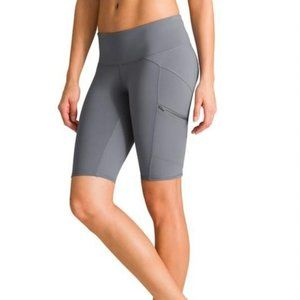 Athleta Drifter Jammer Zip Pocket Bike Shorts